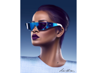 Rihanna Digital Painting