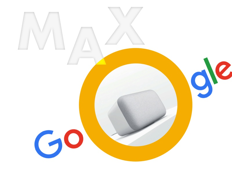 Or a Max? uidesign branding technology home max google