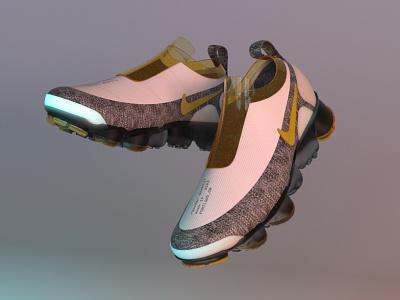 VAPOR MAX renders nike running fashion style rhino3d rendered render rendering shoes nike color branding design