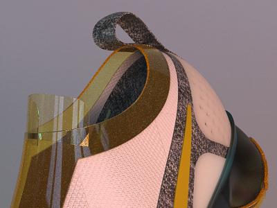 VAPOR MAX rhino3d 3d render rendering lighting branding color shoes nike design materialdesign materials details