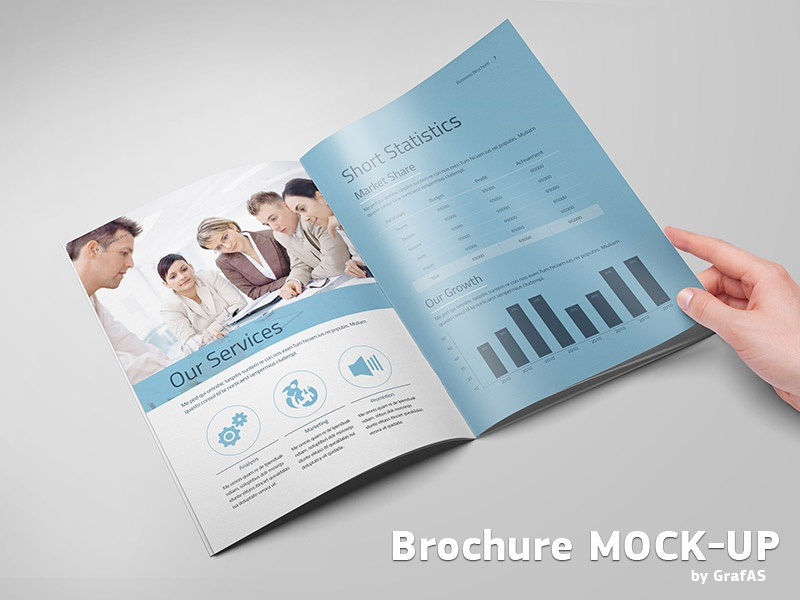 Brochure Mockup brochure catalog booklet mockup catalogue corporate magazine mock-up photo realistic presentation