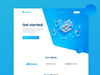Dayone Company - Logo - Landingpage
