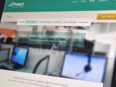 Preact Marketing Site