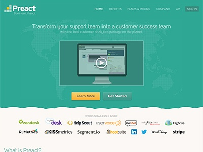 New Preact Marketing Site