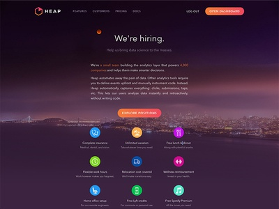 New Heap Jobs Page