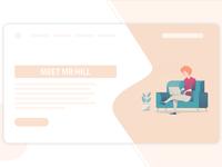Home Web Concept