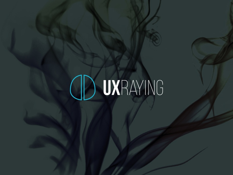 UXRAYING design logo