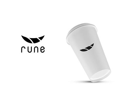 rune logo design icon logo