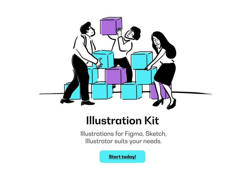 Illustration Kit - Preview