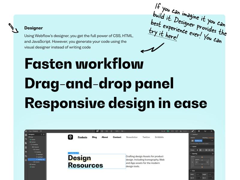 petrbilek - #nocode: webflow introduction branding icon set illustration website design icons brand fonts typography webdesign web design figma product portfolio web website ui webflow