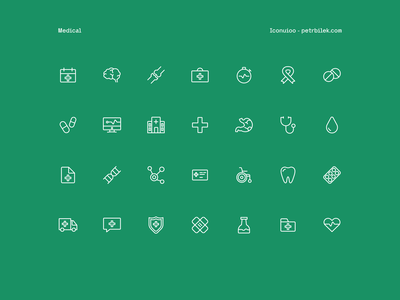 Medical - Iconuioo xd icons medical icons design stroke icons icon set line icons icon pack icondesign icon iconset doctor healthcare health medicine icons pack icons set sketch figma adobexd icons