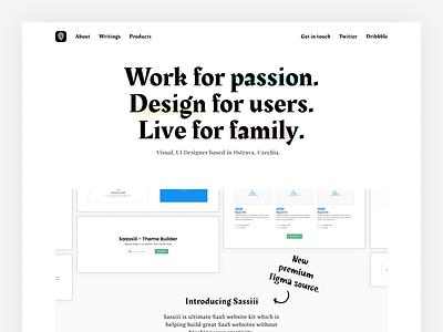 petrbilek.com - New Homepage webdesign portfolio design portfolio page website design product icons designer portfolio portfolio website portfolio site web design designer personal site web site portfolio