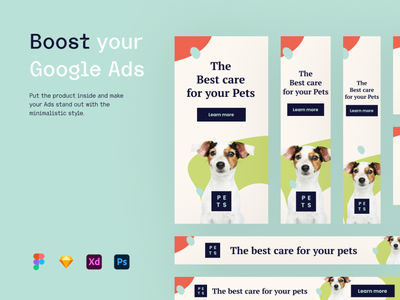 Pets and Animals - Banners facebook ads ads design adsense banner ads design banner ads banner ad banners linkedin twitter facebook post cover banner ads banner ads advertisement