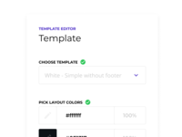 Email editor - Root UI Kit - Example 1