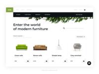 eCommerce - Root UI Kit example