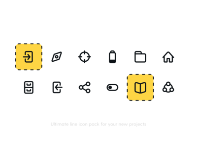 Actions 4 Icon Pack