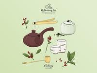 Oolong Tea set