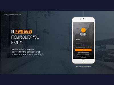 PSEG: FOR YOU screen productdesign digital inspiration userexperience ux uiux app newjersey