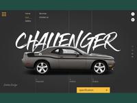 Challenger SRT UI