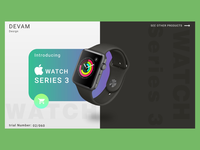 iWatch landing page