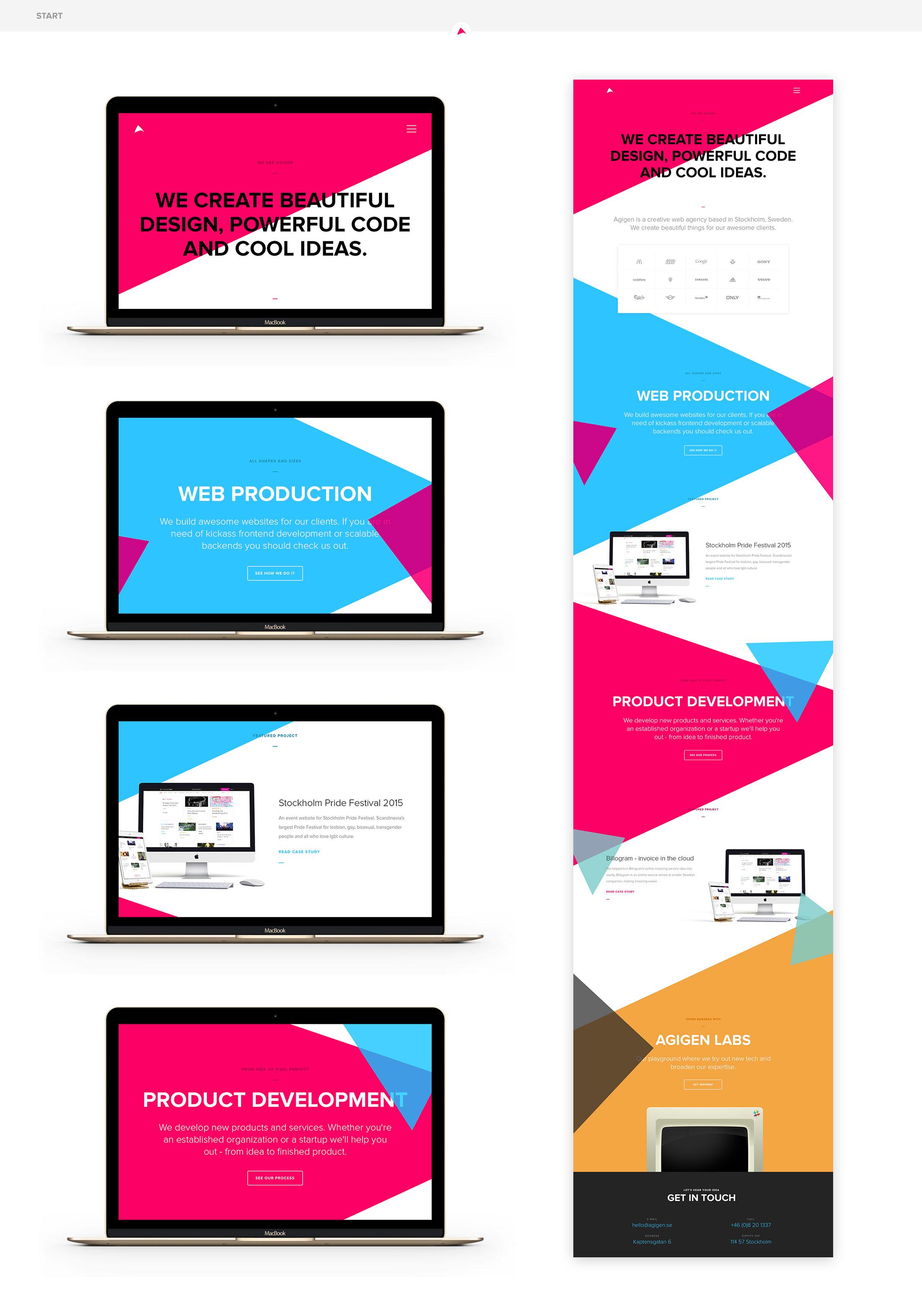Agigen website2015 parallax test