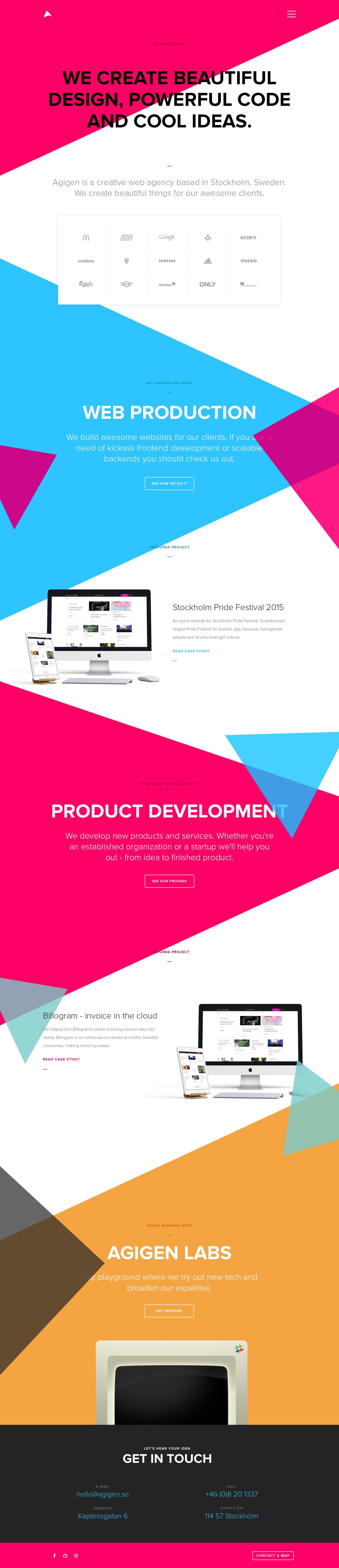Agigen website2015 start