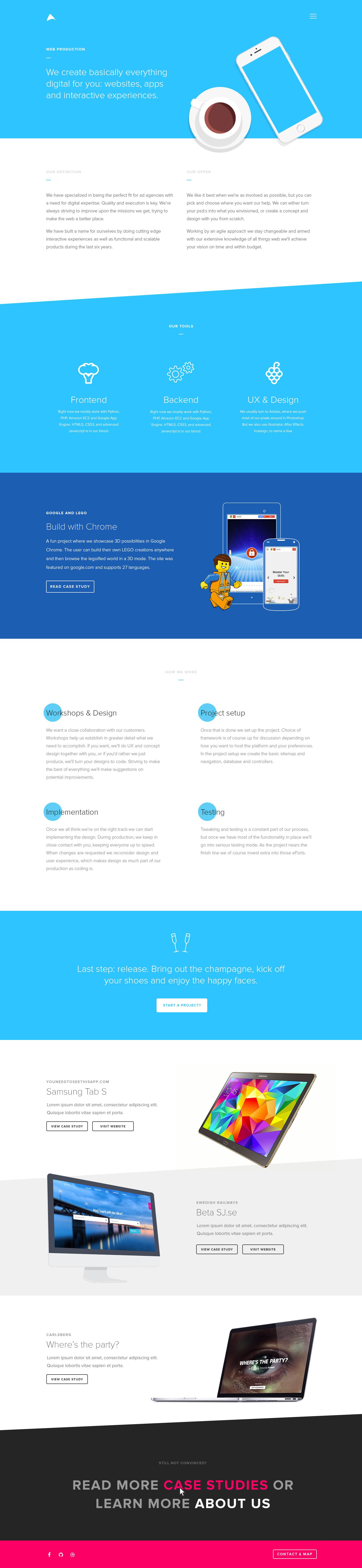 Webproduction