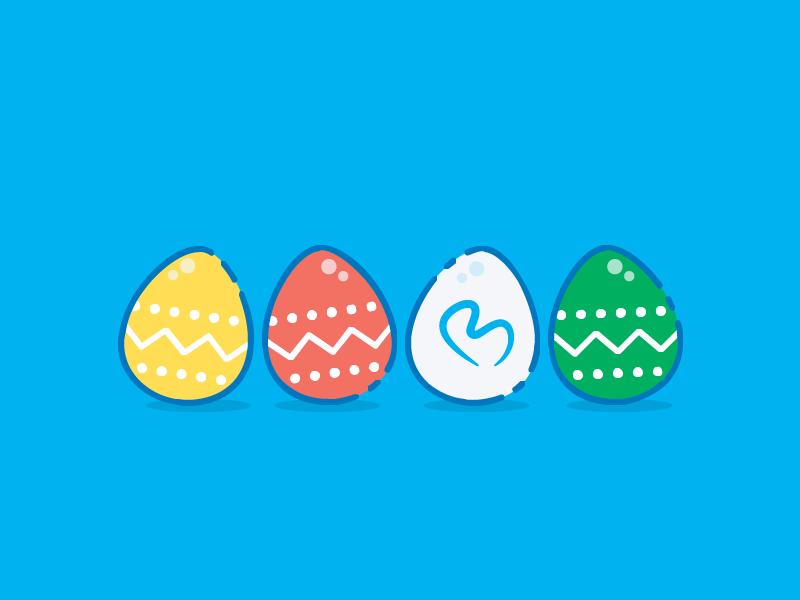 Happy Easter! illustration egg easter bontouch