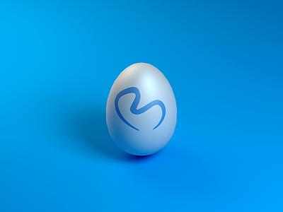 Bon Easter modeling lowpoly blender bontouch egg easter 3d