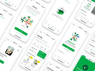 Coop App android iphone ux ui groceries grocery store grocery app design app