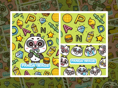 BUBU熊猫-卡通形象IP