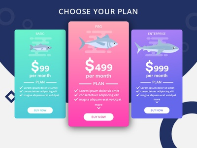 Pricing Page ui animation pricing ui pricing plans pricing table pricing plan plan pricing page pricing