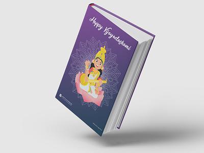 Happy Vijayadashami dussehra god books illustration bookmockup navaratri vijayadashami goddess indian god