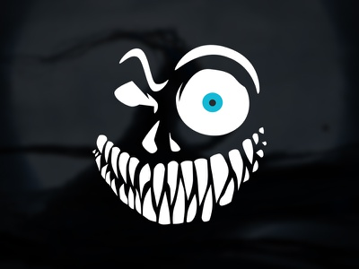 Demon'strate — Ghost Theme Logo ghost demon logo skull theme blog