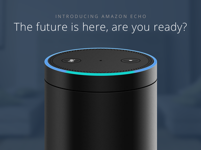 Amazon Echo future render vector echo amazon