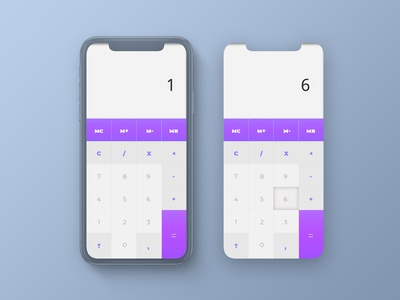 Daily UI Challenge - 04 Calculator