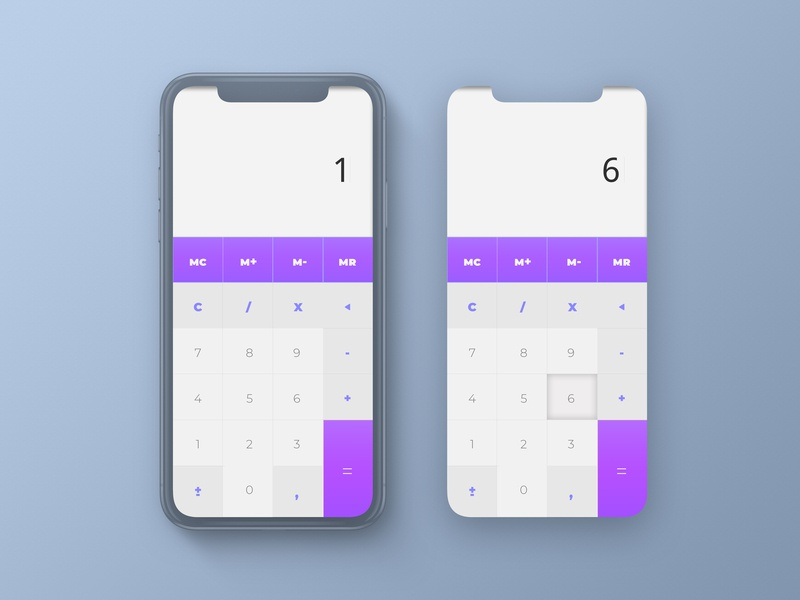 Daily UI Challenge - 04 Calculator dailydesign daily 100 challenge vector template template builder calculator template dashboard ui app apps application 04 uichallenge icon android calculation calculator branding ui ux app dailyuichallenge design