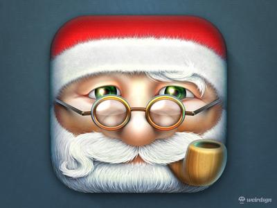 Santa Claus iOS Icon