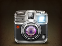 Larger camera app icon