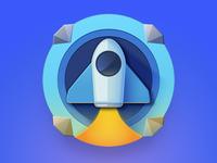 Space Drop App icon