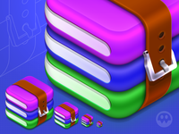WinRAR Icon Redesign Concept
