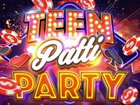 Teen Patti Party Logo