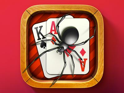 iOS Spider Solitaire Icon