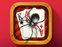 iOS Spider Solitaire Icon