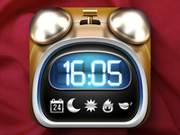 iOS Alarm Clock Icon