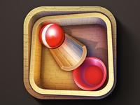 iOS 3d Ball Game Icon