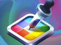 MacOSX Color Code Picker App Icon