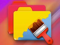 MacOSX Folder Designer Icon