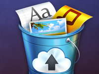 MacOSX Share Bucket App Icon