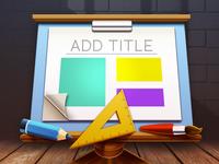 Mac OSX Keynote Templates App Icon